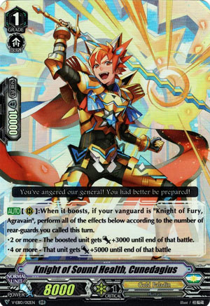 Knight of Sound Health, Cunedagius