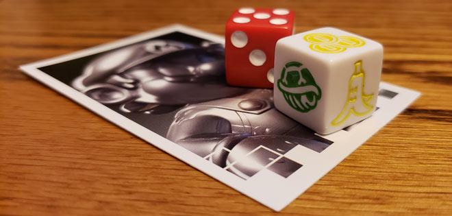 Mario Kart Monopoly Dice