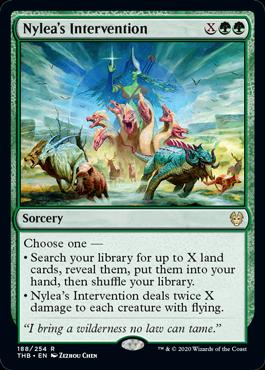 Nylea's Intervention