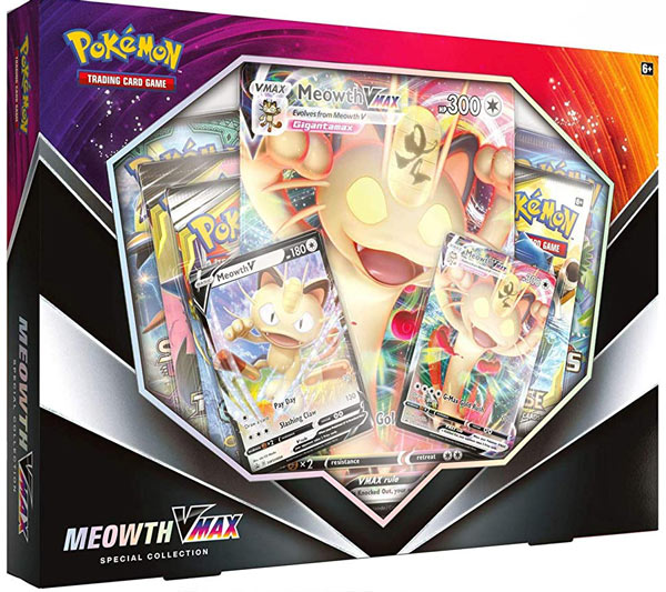 Meowth VMax Special Collection Box