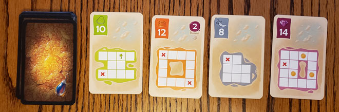 4-displayed-Treasure-Cards