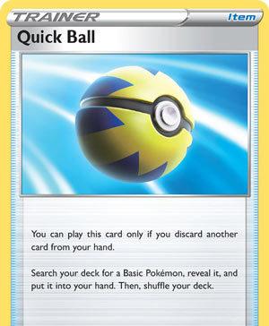 Quick Ball (Sword & Shield SSH 179)