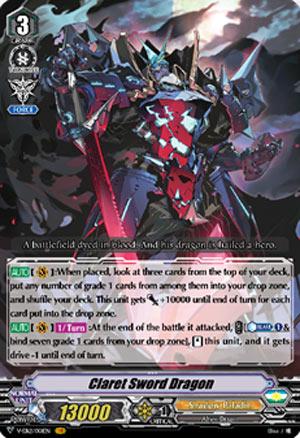 Claret Sword Dragon