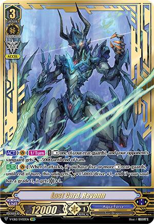 Last Card, Revonn