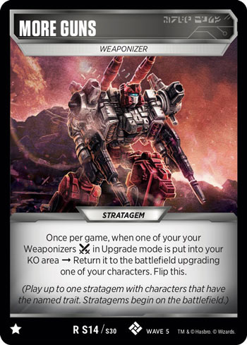 Transformers TCG 1X POP-UP ATTACK Uncommon U S16//S30 Wave 5 Stratagem Titan 2020