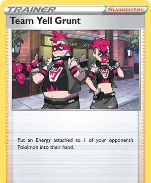 Team Yell Grunt