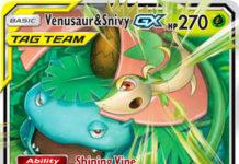 Venusaur & Snivy-GX (Cosmic Eclipse CEC 1)