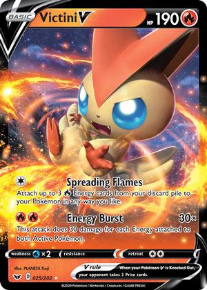 Victini V Sword Shield Pokemon Review Pojo Com