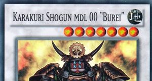 "Karakuri Shogun mdl 00 ""Burei"""