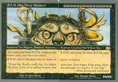 B.F.M. (Big Furry Monster)