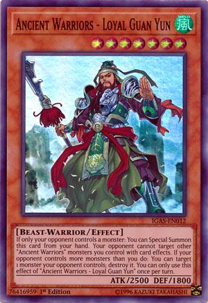 Ancient Warriors - Loyal Guan Yun