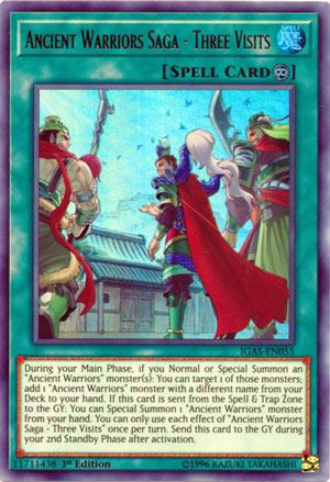 Ancient Warriors Saga - Three Visits