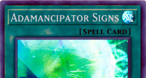 Adamancipator Signs