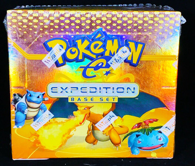 Pokemon English Unlimited Expedition Base Set Booster Box Sealed