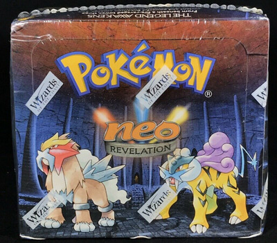 Pokemon English Unlimited Neo Revelation Sealed Booster Box