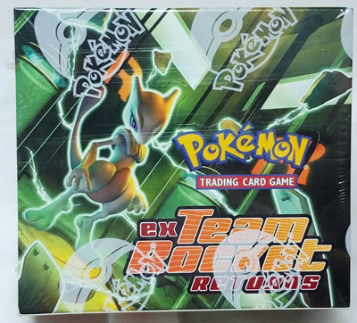 Pokemon Team Rocket Returns - Sealed Booster Box (36 packs) - Rarely Seen