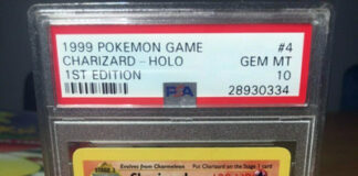 PSA 10 1st Edition Shadowless Charizard Base Set Pokemon Game GEM MINT THICK