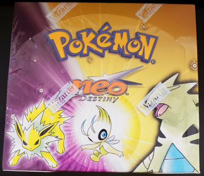 SEALED Pokemon Neo Destiny Booster Box NM/Mint English WOTC contains 36 Packs