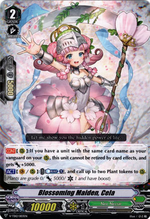 Blossoming Maiden, Cela (V Series)