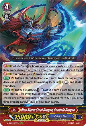 Blue Storm Steel Dragon, Genbold Dragon