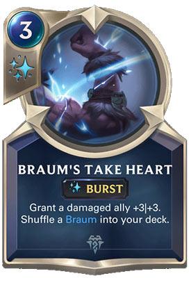 Braum's Take Heart