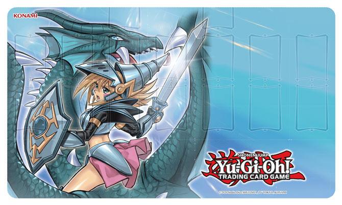 Dark Magician Girl the Dragon Knight Game Mat!