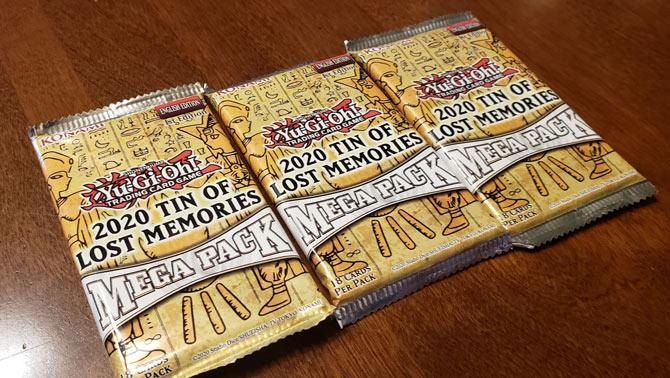 2020 Tin of Lost Memories Mega Packs