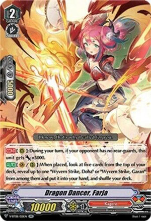 Dragon Dancer, Faja