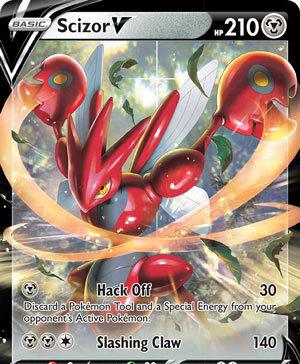 Scizor V - Darkness Ablaze