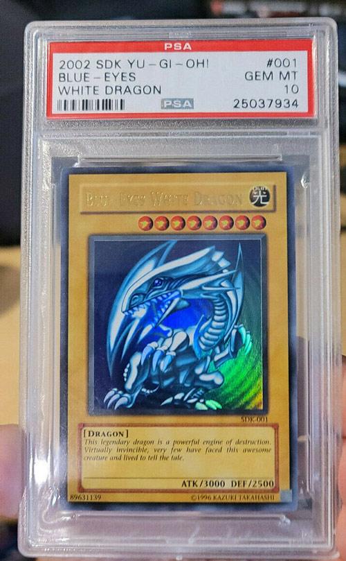 Blue Eyes White Dragon SDK-001 PSA 10 Gem Mint