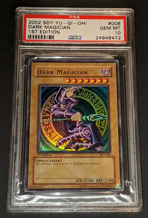 PSA 10 1st SDY DARK MAGICIAN -USA English Starter