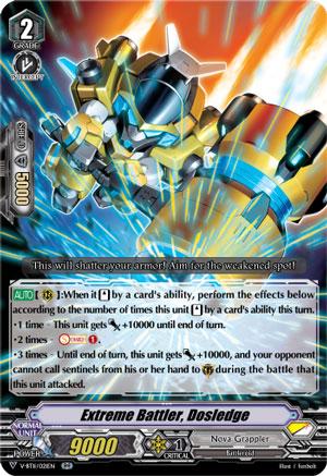 Extreme Battler, Dosledge-