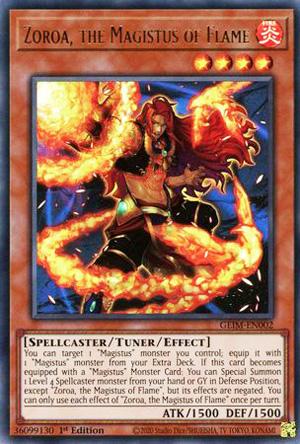 Zoroa, the Magistus of Flame