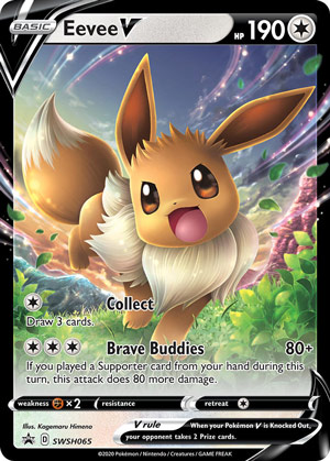 Eevee V (Sword & Shield Promos SWSH065)