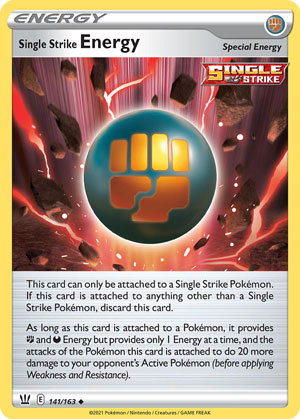 Single Strike Energy