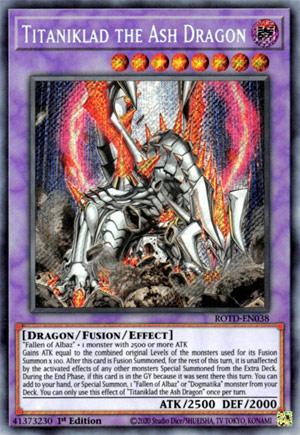 Titaniklad the Ash Dragon