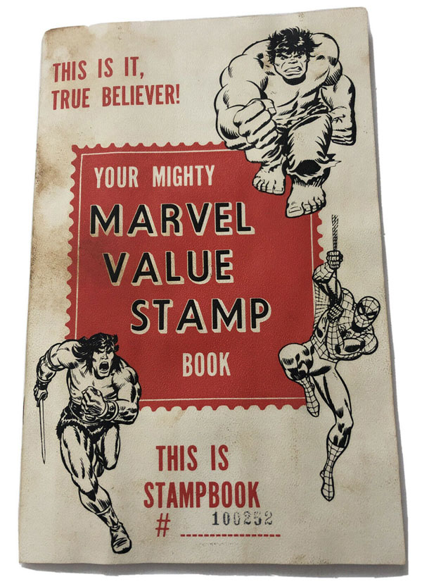 The Marvel Value Stamp Book