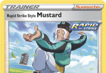 Single Strike Style Mustard