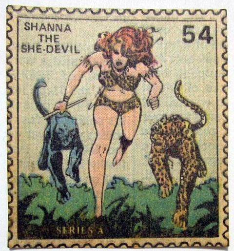 Marvel Value Stamp 54 Shanna She Devil