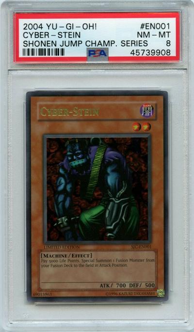 Limited Edition Ultra Rare Cyber-Stein (SJC-EN001)