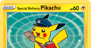 Special Delivery Pikachu