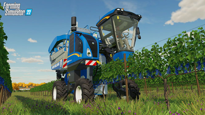 Virtual farmers can now plant and harvest grapes to produce delicious juice