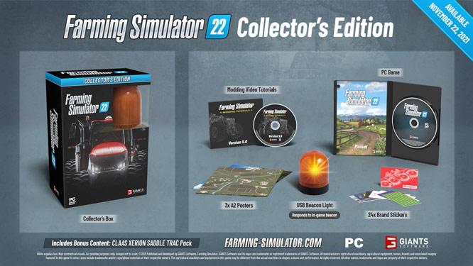 Farming Simulator 22 Coming November 22