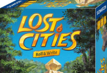 Lost Cities Roll & Write