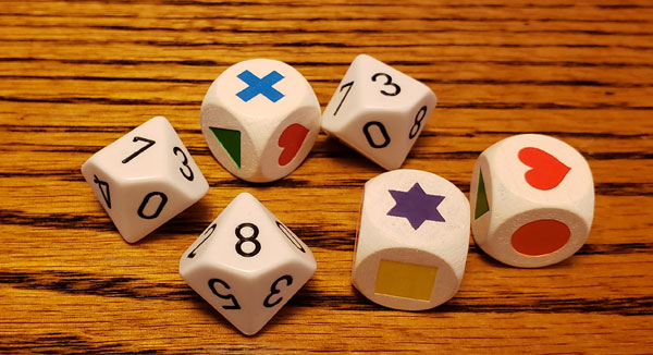 Lost Cities Roll and Write Score Sheet