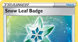 Snow Leaf Badge