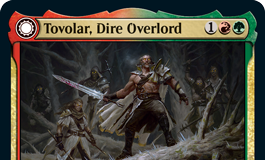 Tovolar, Dire Overlord