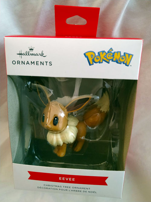 Eevee Joins the Hallmark Ornament Line-up for 2021!