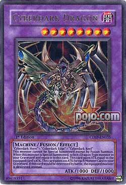 Cyber Dark Dragon Ultra Rare Dark Cyber End Dragon