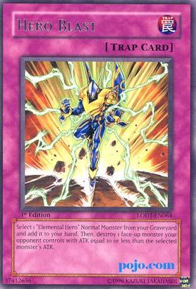 Yu Gi OH Elemental Hero Trap Cards